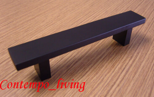 "24/"" Black Square Kitchen Cabinet Pull Handle Hardware"