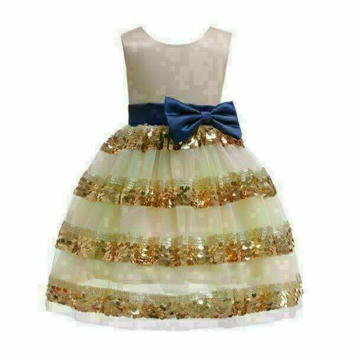 Dress girl wedding kid formal princess tutu flower baby party bridesmaid dresses