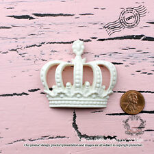 """Shabby Chic Furniture Appliques, ScrapBooking """"Not Too Shabby Chic Crown"""""""