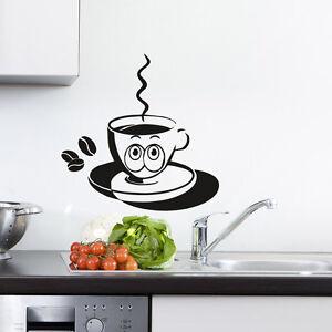 Wandtattoo Kaffeetasse Glubschi Tasse Küche \