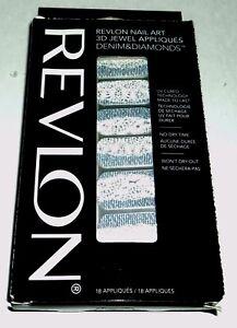 Revlon-Art-Ongles-3D-Bijou-Appliques-Denim-amp-Diamants-Pretty-En-Punk-07-Plume