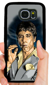 SCARFACE GANGSTER PHONE CASE FOR SAMSUNG NOTE GALAXY S4 S5 ... |Scarface Phone Case