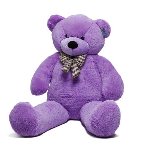 Joyfay® 78 Giant Teddy Bear 200cm Purple Stuffed Plush Toy Valentine Gift