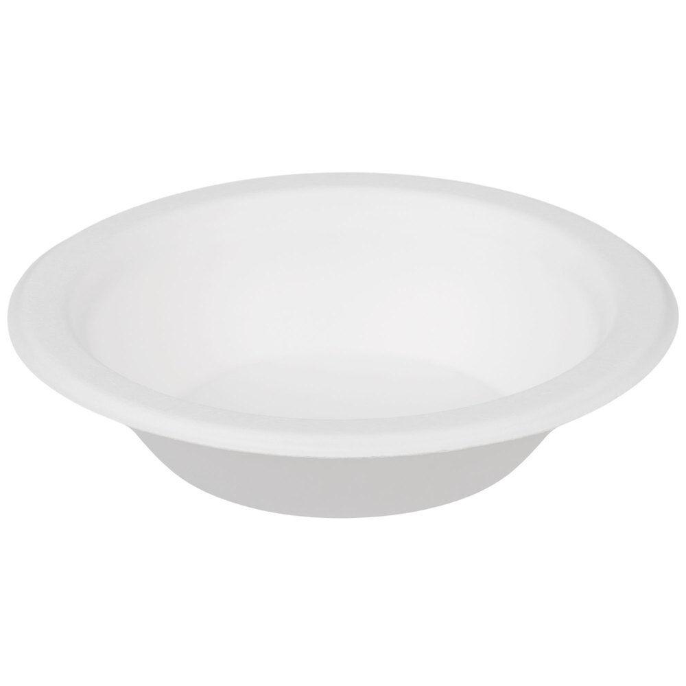 1000 X 16oz 16oz X ronda Libro Blanco Cuencos Biodegradable bagazo de Caña de Azúcar desechables d73115