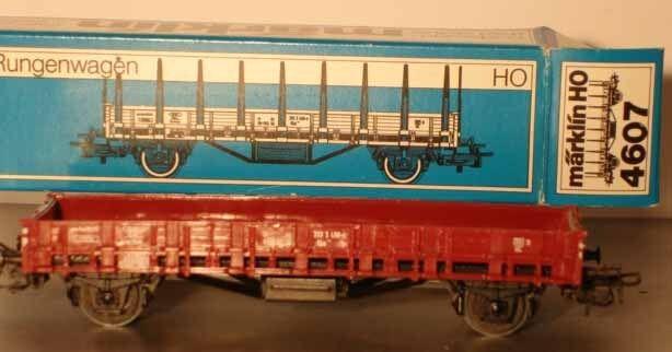 Märklin HO:  4607 Rungenwagen