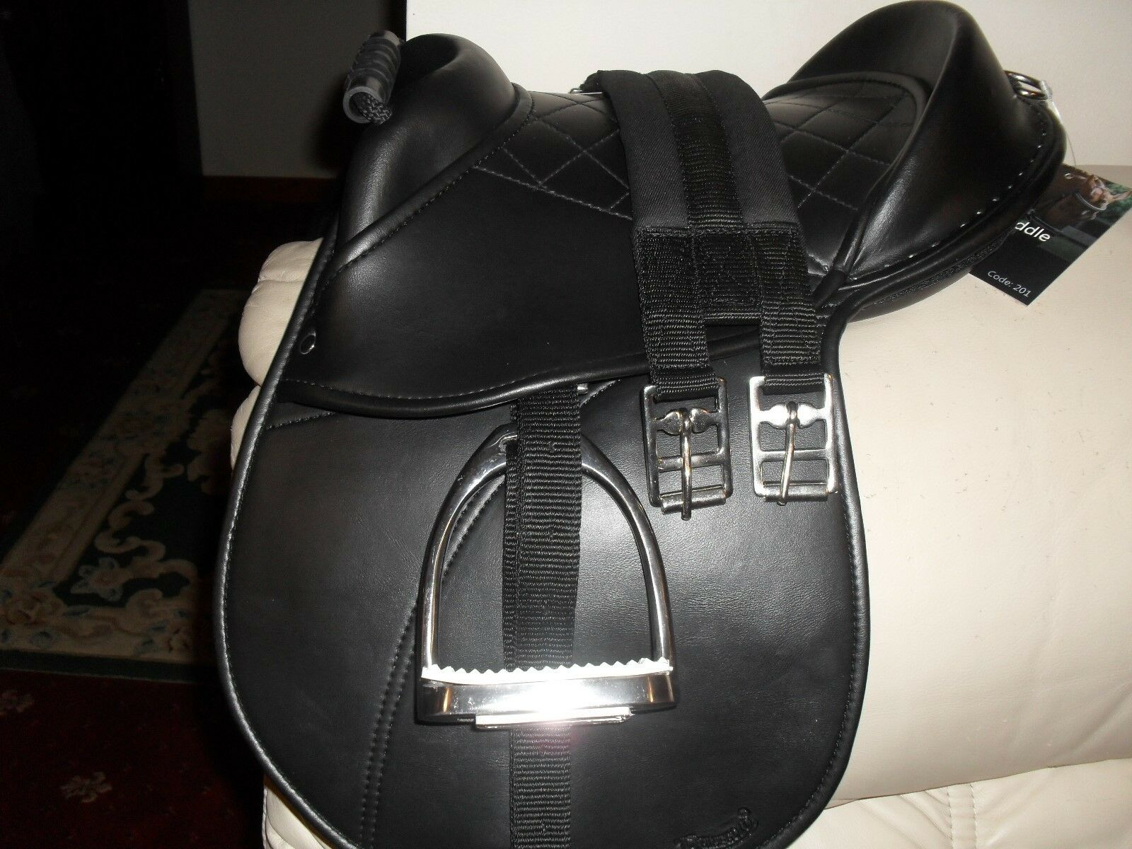 New Rhinegold Cub Saddle  Set,Saddle, Irons,Leathers,Girth, PRICE REDUCED TO SELL  all in high quality and low price