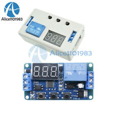 Dc 12v Led Display Home Automation Delay Timer Control Switch Relay Module