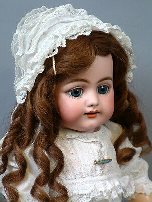 """Smiling 719 Simon & Halbig Character Child Antique Doll 22"""" Mint condition"""