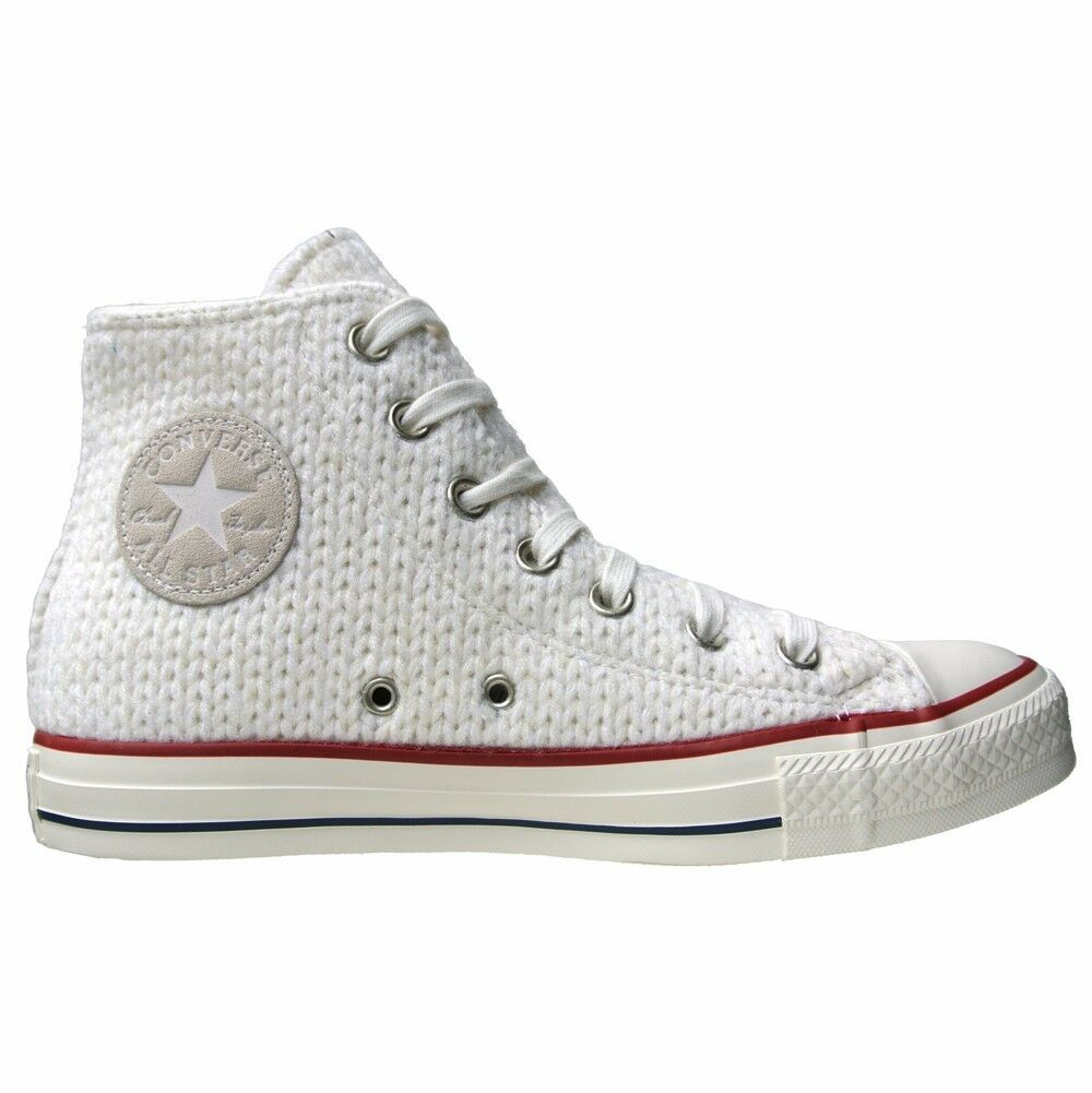 CONVERSE ALL STAR 3,5 CHUCKS EU 36 UK 3,5 STAR WINTER WEIß KNIT GESTRICKT LIMITED EDITION 923d8b