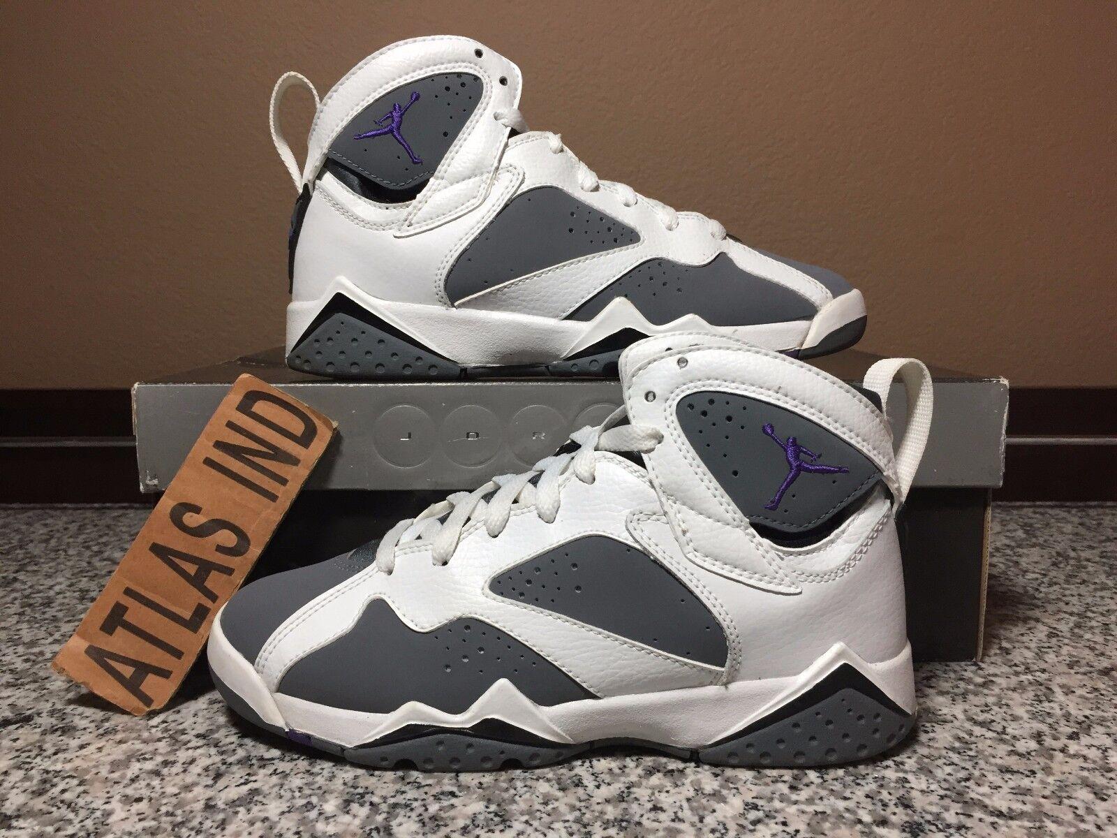 AIR JORDAN 7 RETRO Flint Grey Nike VII 1 3 5 6 8 9 11 12 DB Bordeaux Raptors 4Y