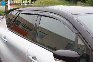 Auto-Clover-Wind-Deflectors-Set-for-Renault-Captur-4-pieces