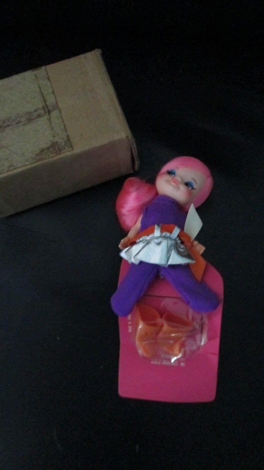 Nueva Muñeca Vintage 1969 dedo Ding Millie Mod Remco marioneta Go Go Girl