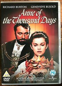Anne-of-the-Thousand-Days-DVD-1969-Henry-VIII-Boleyn-British-Drama-Classic