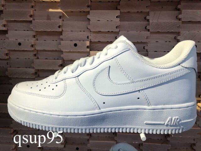 Nike AIR FORCE 1 '07 Low All White 314192 117 315122 111 GS & Men's 4Y 13 OG