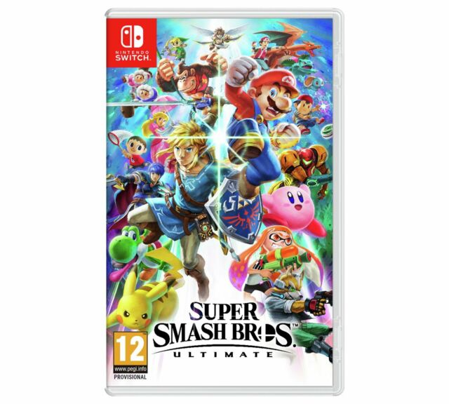Super Smash Bros Ultimate - Nintendo Switch - 07/12/18 (Please Read Description)