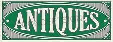 3x8 Antiques Banner Outdoor Sign Large Market Shop Collectibles Furniture Sale