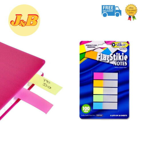 research.unir.net GREAT VALUE 100 Sticky Highlighter Index Tabs ...