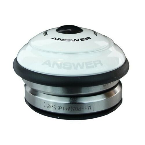 """Head Set from ANSWER Mini 1/"""" Intergrated Headset White"""