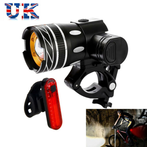 15000LM Bicycle Lamp Bike Lights MTB Rear//Front Set Headlight USB Rechargeable