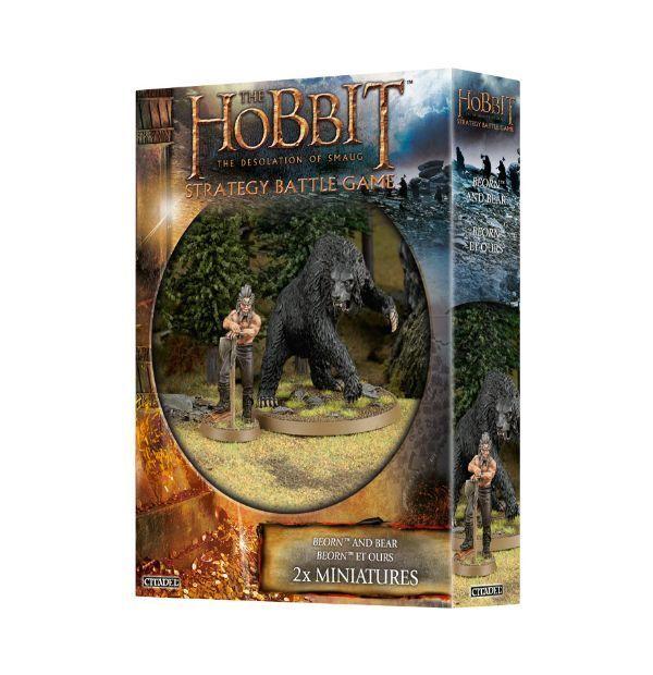 Nuevo señor de los anillos Warhammer Hobbit Beorn y Oso Modelo Lote 5 8