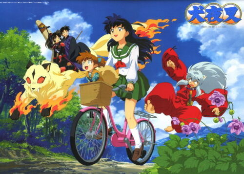 """016 InuYasha Fight Hero Japan Hot Action Anime 19/""""x14/"""" Poster"""