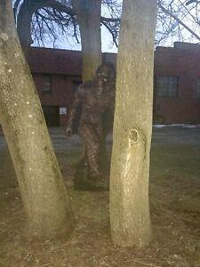 Bigfoot Sasquatch Statue Standup Standee Cardboard Cutout Poster ...