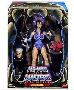 NEW 2016 MOTU Evil Lyn 2.0 Masters of the Universe Classics Filmation Club