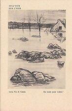 A1301) WW1, SATIRICA ANTI TEDESCA DI RAEMAEKERS, SULL'YSER.