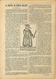 ARTICLE-COMPLET-Dr-Maurice-Genty-Grippe-au-Siecle-Galant-Dr-Broussais-1918-WWI