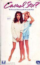 Casual Sex (1988) VHS CIC  Lea Thompson Victoria Jackson