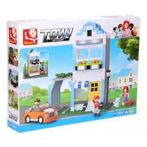 Sluban-B0572-Town-City-Casa-Apartamento-Apartment-Compatible-Lego-305-piezas