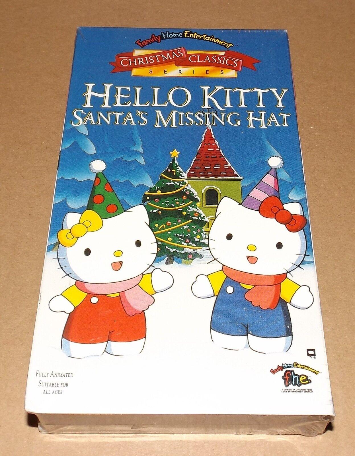 683fc2d88649c Hello Kitty - Santas Missing Hat (VHS