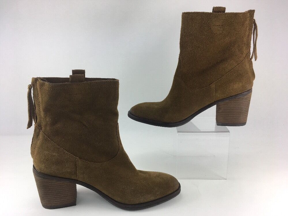 Sam Edelman Ankle FARRELL Damenschuhe US 7M Braun suede Zip-Up Ankle Edelman Stiefel Urban Outfitters e11d3e