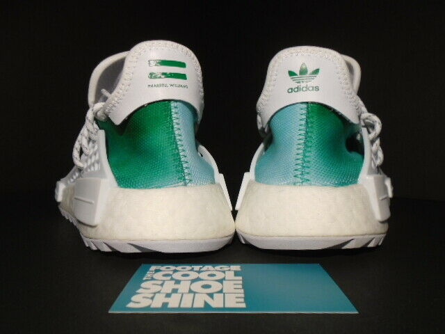 adidas PW HU Holi NMD MC Pharrell Human Race Youth China R1 Green White F99760 6