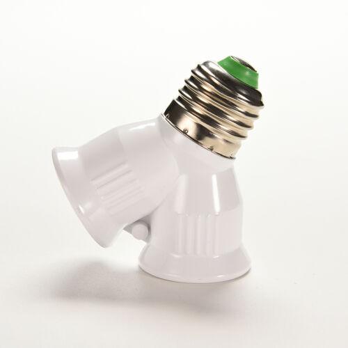 Schraube E27 LED-Sockelleuchte Lampenfassung 1 bis 2 Splitter Adapter Konver F7