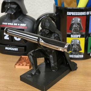 3D-Printed-Star-Wars-Darth-Vader-Pen-Holder-Custom-Made-Office-Accessories