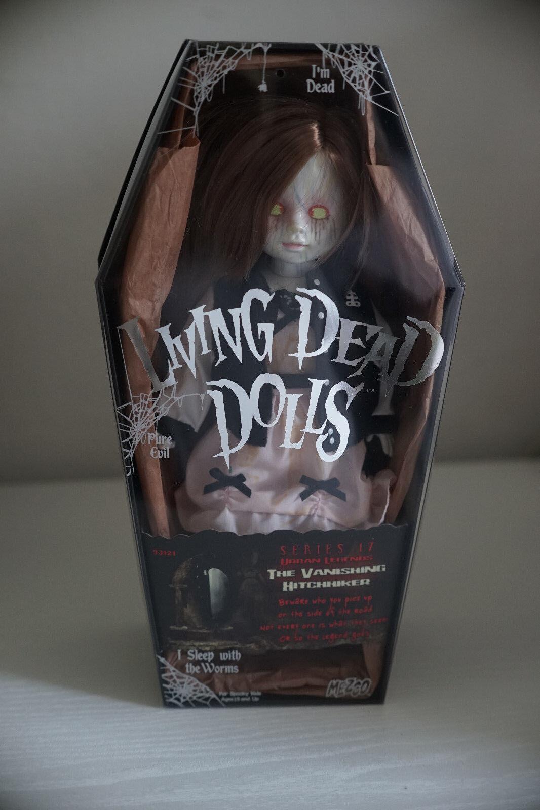 Living Dead Dolls THE VANISHING HITCHHIKER Doll Puppe wie neu