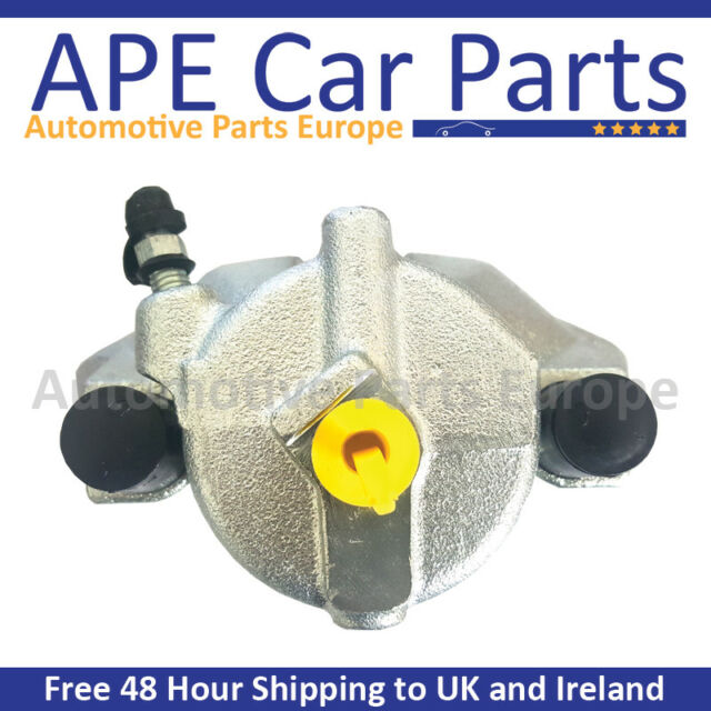 Pair Front 308MM Brake Caliper Carriers for Saab 900 97-98 9-3 9-5
