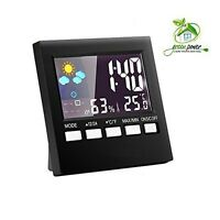 Digital Indoor Weather Thermometer, Weather Channel Thermometer, Temperature An