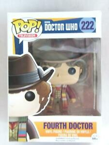 FUNKO-POP-VINYL-DOCTOR-WHO-FOURTH-DOCTOR-222-with-FREE-PROTECTOR