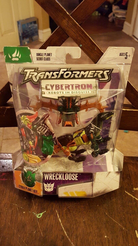 Transformers Cybertron Robots In Disguise Decepticon Wreckloose  en perfecto estado en cartón sellado  2018