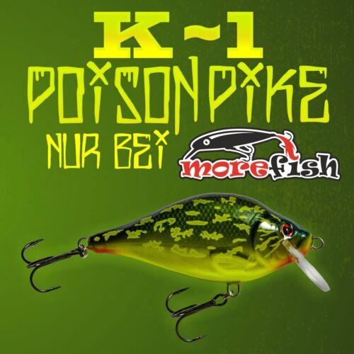 Hybrida K-1 alle Modelle! 25gr Poison Pike 9cm UV Limited Edition