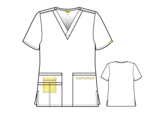 WonderWink Women/'s Scrub Set All Colors/&Sizes TOP 6016 // PANT 5026 Origins