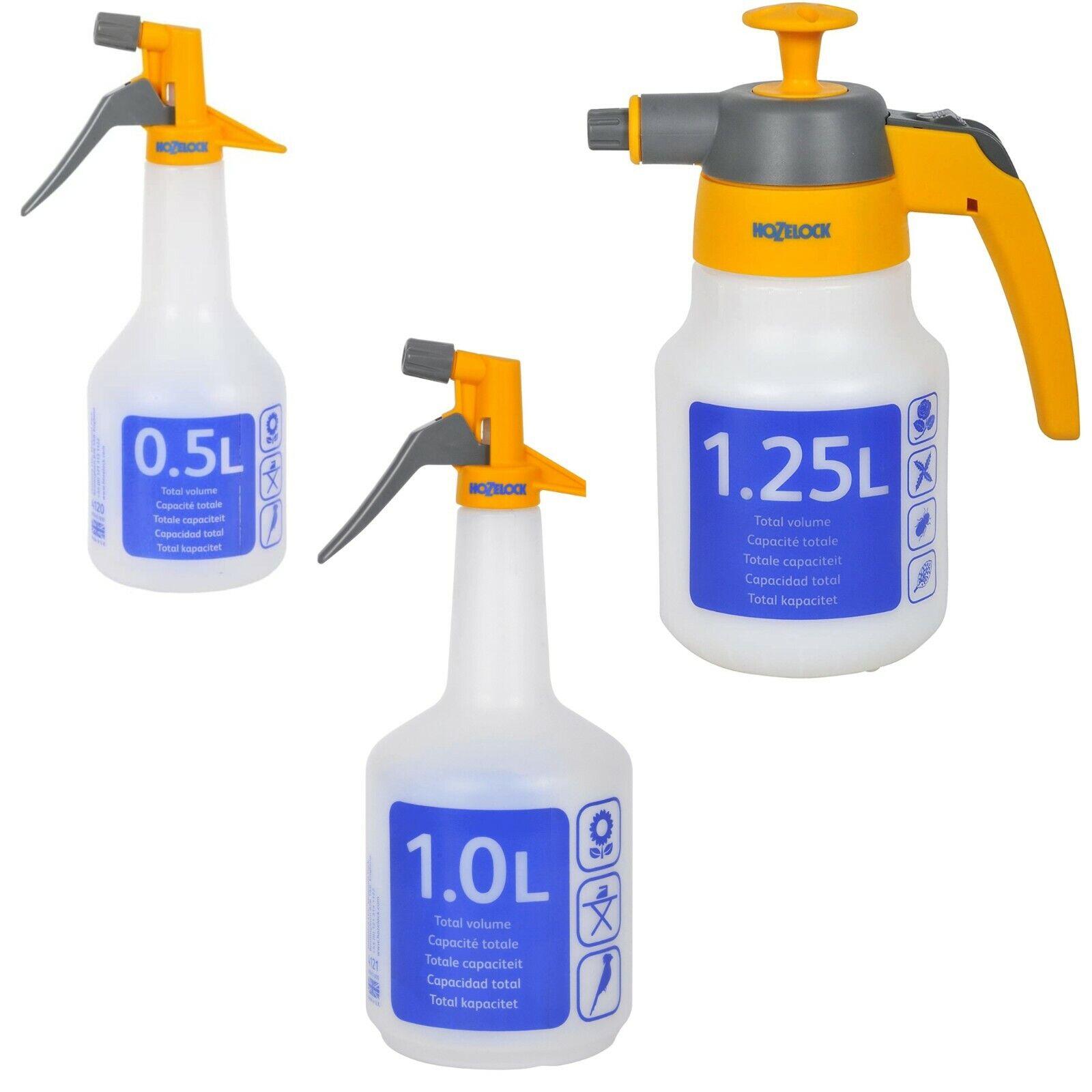 Hozelock Trigger Water Sprayer Hand Spray Bottle Plants Garden Cleaning Flowers