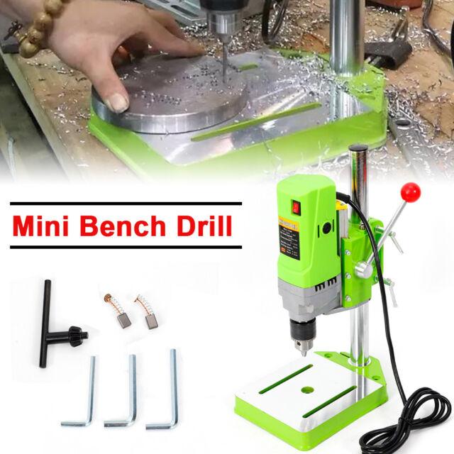 Details About 340w Mini Drill Press Bench Workbench Furniture Diy Wood Drilling Machine Us New