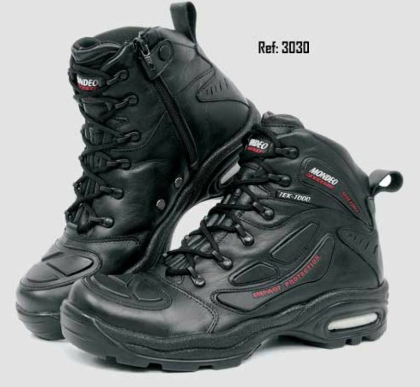Mondeo Elite Force Tek-Para hombre moto botas (3030)