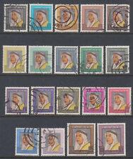 Kuwait 1964 fine used Mi.215/33 Freimarken definitives Scheich sheik [ga429]