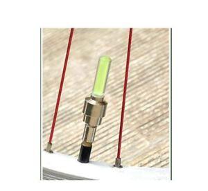 2x-Ventilkappen-LED-Speichenlicht-Fahrraeder-Bike-Autos-Fahrrad-Ventil-Wheellight