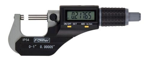 """54-860-002-1 Fowler Micrometer 1-2/"""""""