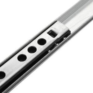 2-X-Ball-Bearing-Drawer-Slides-Rail-Metal-8-16-Inch-Extension-Side-Mount